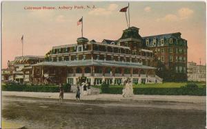 ASBURY PARK NJ - COLEMAN HOUSE HOTEL 1910s era - DEMOLISHED