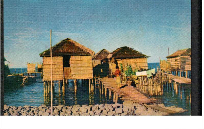 Homes on Lake Maracaibo, Venezuela, 1940-60s PU