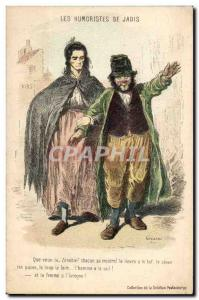 Old Postcard Formerly The humourists What do you Zenobia Icrogne Miserable Hu...