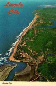 Oregon Coast Lincoln City Aerial View