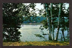 VT Hapgood Pond Recreational Area PERU VERMONT Postcard