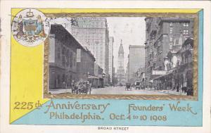 225th Anniversary Founders' Week, Broad Street, PHILADELPHIA, Pennsylvania, O...