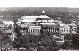 Library of Congress - Washington, District of Columbia DC Postcard