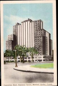 Quebec ~ MONTREAL Laurentien Hotel Dominion Square pm1951 PECO WB