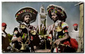 Old Postcard Morocco Scenes and Types of Water Carriers and Koutoubia Folklor...