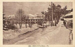 CPA Peira-Cava - l'Hilver - FL. (110687)