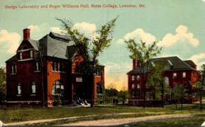 Maine Lewiston Hedge Laboratory and Roger Williams Hall Bates College