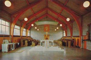 Westminster Abbey Interior , MISSION CITY , B.C. , Canada , 50-60s