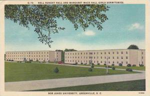 South Carolina Greenville Nell Sunday Hall And Margaret Mack Hall Girls Dormi...