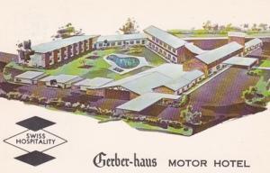 Indiana Fort Wayne Gerber-Haus Motor Hotel