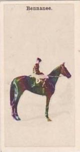 Wills Vintage Cigarette Card New Zealand Race Horses 1928 No 8 Bennanee