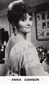 Anna Dawson Carla from The Kenny Everett TV Show Hand Signed Photo