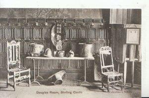 Scotland Postcard - Douglas Room - Stirling Castle - Stirlingshire - Ref 17124A