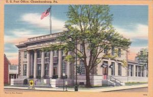 Pennsylvania Chambersburg Post Office