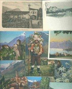 pc730 postcard Switzerland NINE all MOBSC