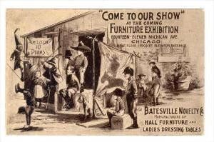 ADV: Batesville Novelty Co Hall Furniture & Ladies Dressing Tables, Furniture...