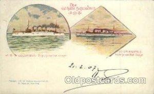 Military Ship Ships Poscard Postcards USS Columbia 1907