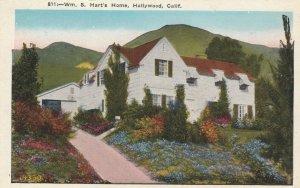 HOLLYWOOD, California, 1910s; Wm. S. Hart's Home