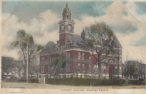 PARIS , Tennessee , PU-1907 ; Court House