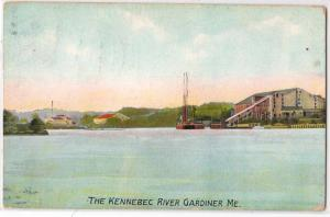 Kennebec River Gardiner ME