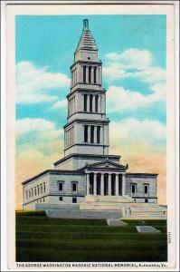 George Washington Masonic Nat Memorial, Alexandria VA