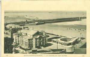 Boulogne-sur-Mer, Le Casino et les Jetees, early 1900s