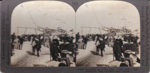 SV: Gold Rush; Preparing to Climb Golden Stair, Chilkoot Pass, Alaska , 1898
