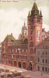 Schweiz Basel Rathaus 1913