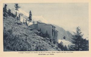 MONT BLANC, Haute Savoie, France, 1900-1910's; Compagnie Francaise Des Chemins D