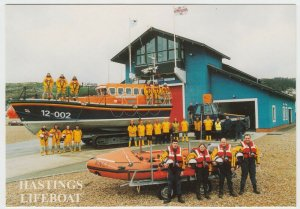 Shipping; Hastings Lifeboat Sealink Endeavour & D Class Cecil Rampton PPC