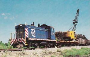 Florida East Coast Railway EMD SW-1200 No 233 At Rockledge Florida 26 April 1984