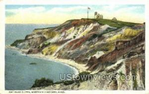Gay Head Cliffs Marthas Vineyard MA Unused