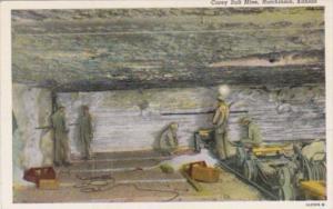 Kansas Hutchinson Carey Salt Mine Interior Curteich