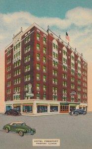 FREEPORT , Illinois , 1930-40s ; Hotel Freeport