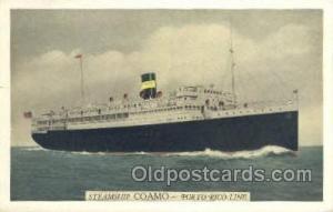 Coamo Ship, Ships, Postcard Post Cards  Coamo
