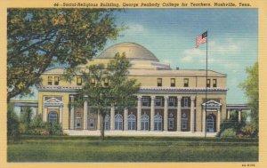 NASHVILLE , Tennessee, 1938 ; Social Religious Bldg, Peabody College