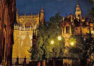 Spain Sevilla Parcial View of the Cathedral Door of the Prince