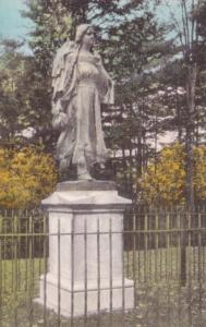 Mary Jamison Monument Letchworth State Park Castile New York Handcolored Albe...
