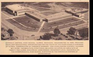 Michigan Alpena Catholic Central High School Artvue