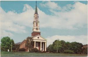 University of MARYLAND, Memorial Chapel, unused Postcard