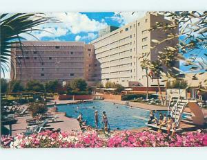 Pre-1980 SWIMMING POOL AT RIVIERA CASINO HOTEL Las Vegas Nevada NV B2388