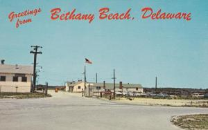 Greetings from Bethany Beach DE, Delaware - National Guard Training Station
