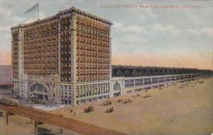 Illinois Chicago La Salle Street Kailway Station