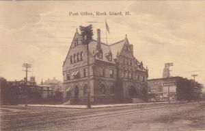 Post Office, ROCK ISLAND, Illinois, PU-1918