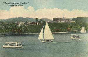 jamaica, PORT ANTONIO, Titchfield Hotel (1930s)
