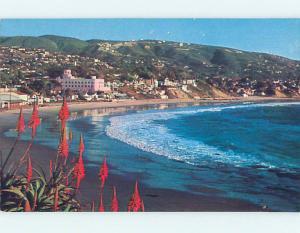 Unused Pre-1980 SCENE AT BEACH Laguna Beach California CA M6635-12