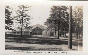 RP: STRATFORD, Ontario, 30-40s ; Shakespearean Theatre