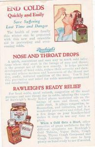 Rawleigh's Nose & Throat Drops & Ointment