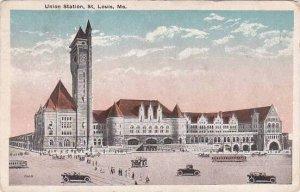 Missouri Saint Louis Union Station 1919