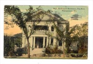Supt. McKinney Residence, The Rest, Montgomery , Alabama, PU-1912